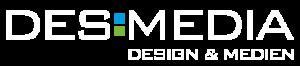 Logo Desmedia weiss