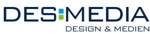 Logo Desmedia - Design & Medien