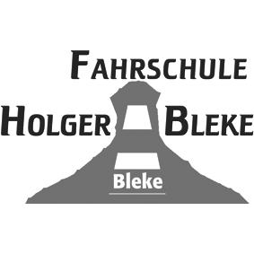 Logo grau / Fahrschule Holger Bleke