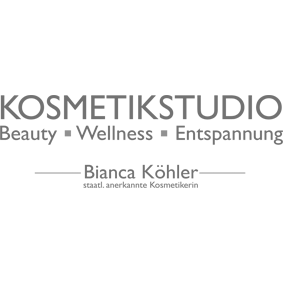Logo grau / Kosmetikstudio - Beauty - Wellness - Entspannung / Bianca Köhler