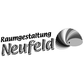Logo grau / Raumgestaltung Neufeld