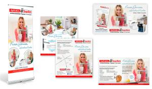 Referenzen Autrata & Segelken / Roll up, Flyer, Facebook Banner und Anzeige