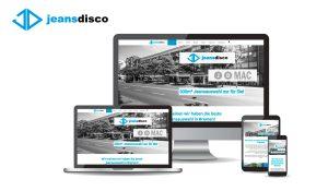 Referenzen Website Jeans Disco