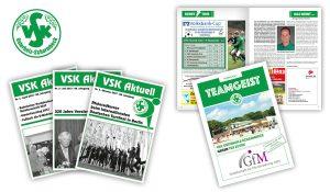 Referenzen VSK Osterholz-Scharmbeck / VSK-Aktuell, Stadionheft